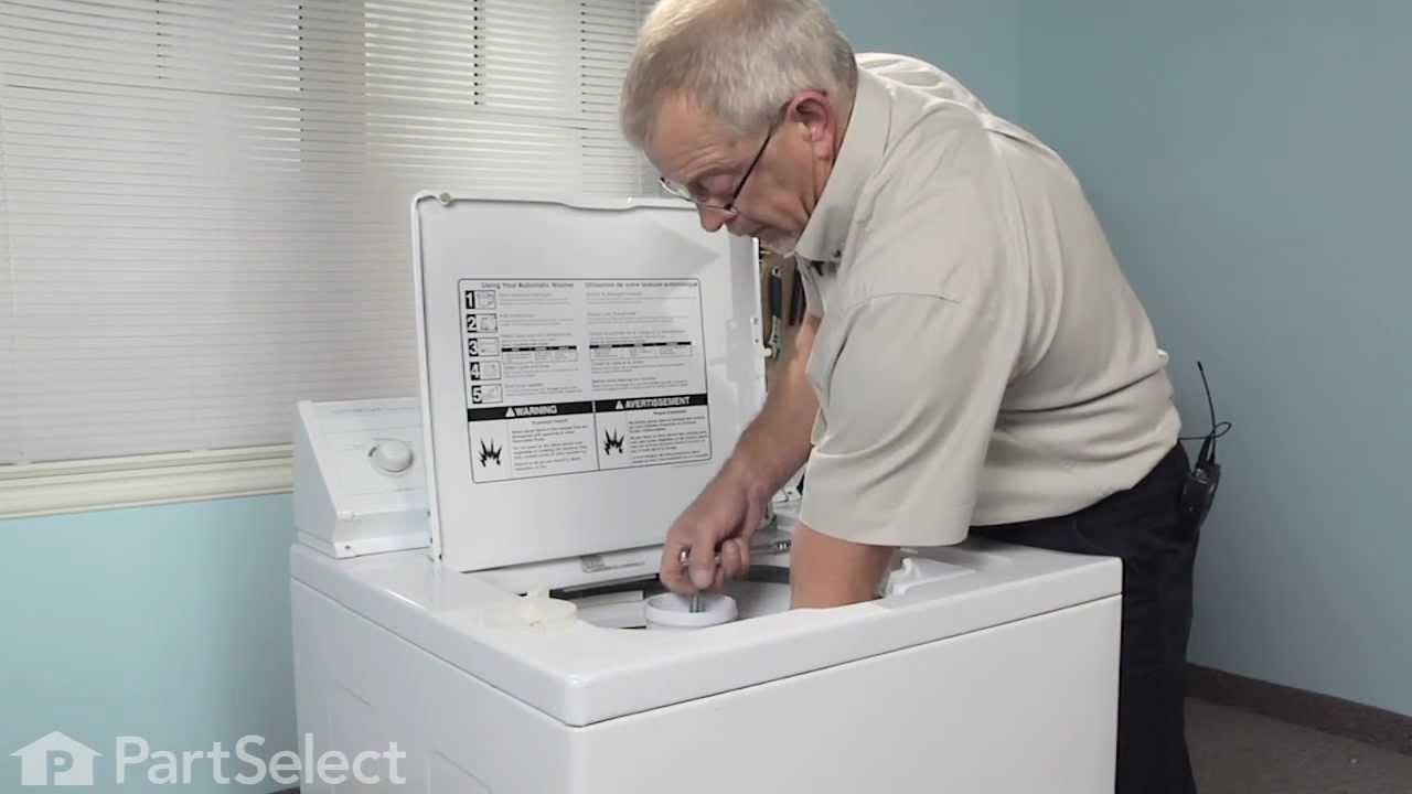 fixing a washing machine agitator