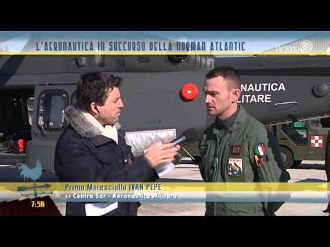L'Aeronautica militare in soccorso della Norman Atlantic