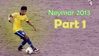 Neymar 2013 Skills Party On My Level (Part 1) HD