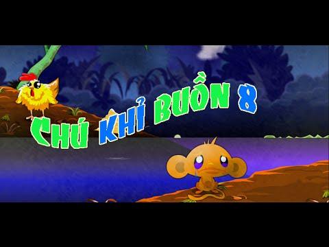 Game chú khỉ buồn 8 - Video đáp án game chú khỉ buồn 8