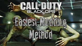 How To Mod Black Ops Zombies Online With A USB!!! EASY