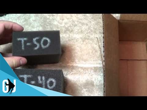 #105: Polyether Filter Foam Samples for Aquariums