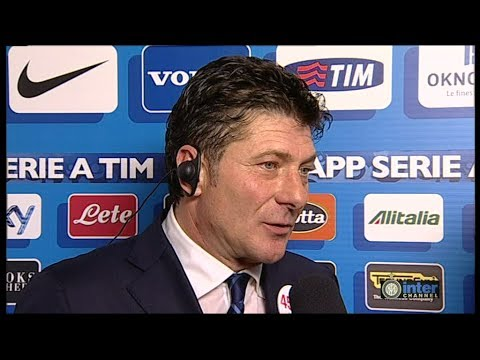 INTERVISTA WALTER MAZZARRI POST INTER-HELLAS VERONA