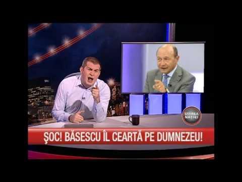 Basescu il cearta pe Dumnezeu