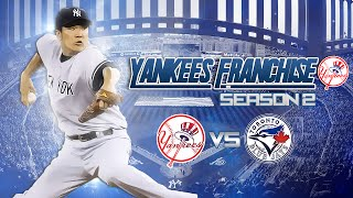 MLB 15 The Show: Yankees Franchise vs Blue Jays - 2016 Opening Day! [S2]
