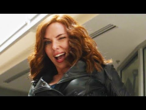 Captain America - Civil war - z�bavn� sc�ny
