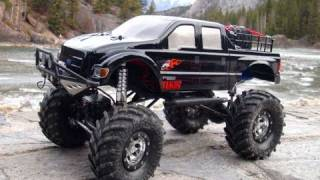 RC ADVENTURES FORD F-650 TRUCK SCALES SULPHUR MOUNTAIN