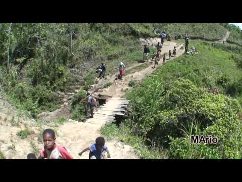 Papua - Baliem Valley treking part 7 - Syokosimo - Wamena - z Syokosimo do Wameny