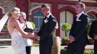 """I need to poo"" – Toddler Iinterrupts Wedding Ceremony"