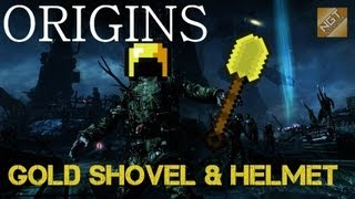Origins Zombies: The Golden Shovel And Golden Helmet How