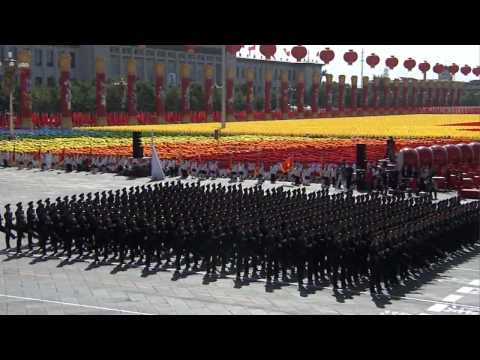 PLA POWER     China National Day parade  HD