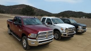 2014 Ram 2500 HD Vs Ford F-250 Vs Chevy Silverado 2500 0
