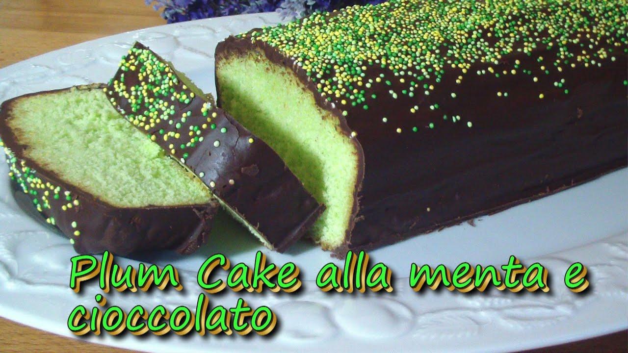 Plum Cake Chocolate Cocco