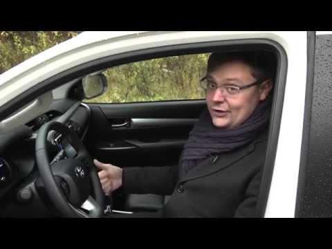 АвтоЭлита. Тест-драйв Toyota Hilux. Программа от 07.11.2015