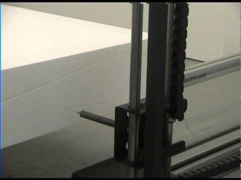 Cięcie styropianu CNC