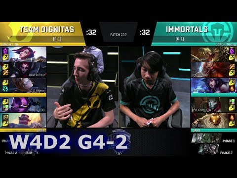Immortals vs Dignitas | Game 2 S7 NA LCS Summer 2017 Week 4 Day 2 | IMT vs DIG G2 W4D2