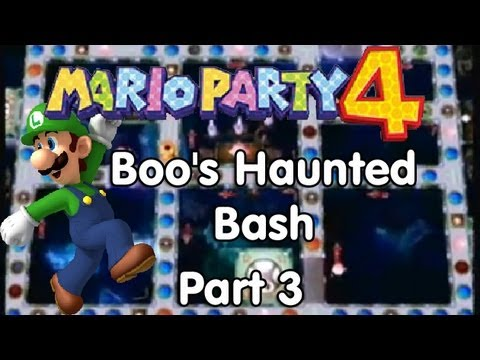 Mario Party 4! Boos Haunted Bash  Part 3