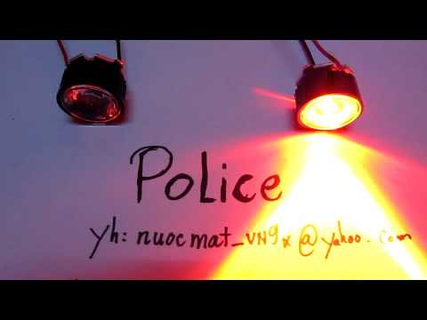 Led Police Flashing Lights