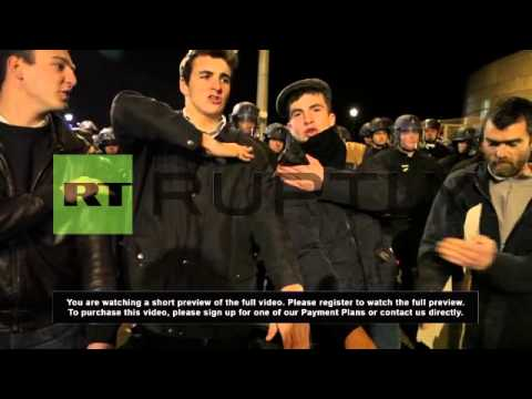France: Dieudonne fans do the 'quenelle' in protest against ban