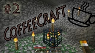 CoffeeCraft SMP 02 (Minecraft SMP) - Mining view on youtube.com tube online.