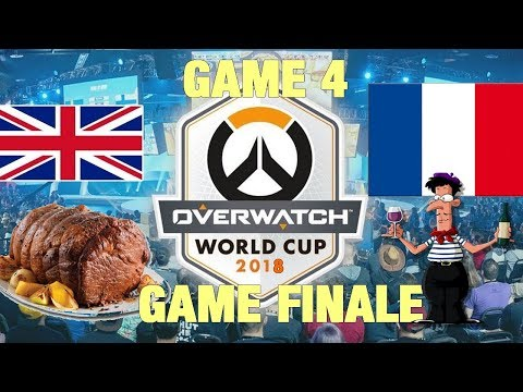 GAME FINALE FRANCE ANGLETERRE OVERWATCH Paris worldcup 4