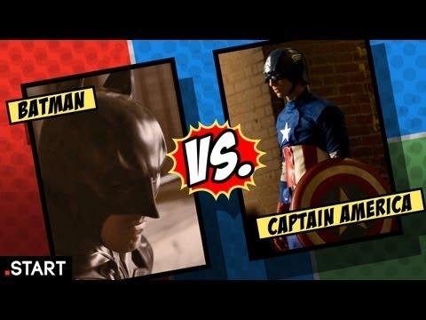 Ultimate Fan Fights - Batman vs. Captain America In Real Life - Ultimate Fan Fights Episode 1