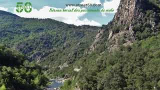 Roadbook moto Ardèche : La Vallée de l'Eyrieux