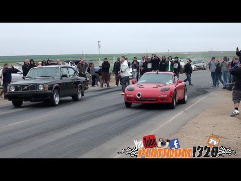 LS7 Turbo Fd Rx7 vs LSX Turbo Volvo