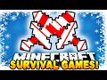 Minecraft - CHRISTMAS HUNGER GAMES MAP! - w/ Preston
