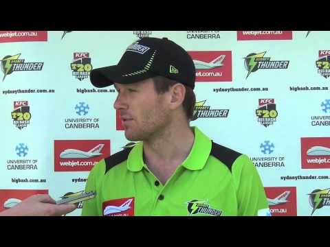 Eoin Morgan looking forward to BBL03