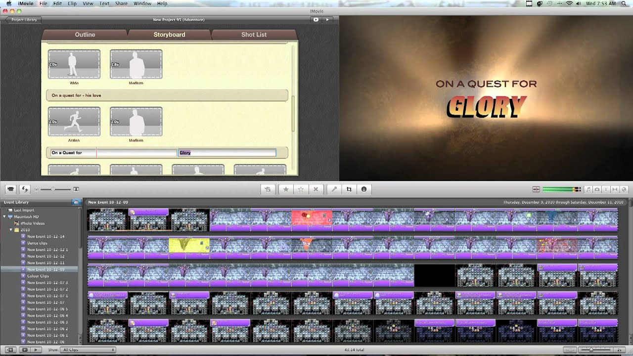 How to make a movie trailer using sony vegas
