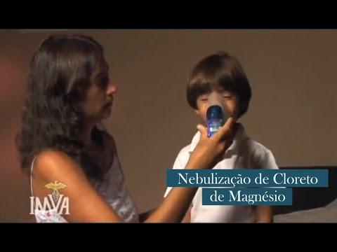 Nebulização de Cloreto de Magnésio - Dr. Mark Sircus, Ac, OMD, (DM) P
