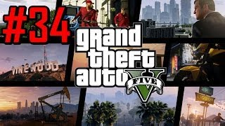 Grand Theft Auto V (GTA 5) - PS3 - Playthrough #34 [Detonado PT-BR]