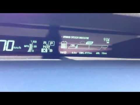 Тест-Драйв Тойота Приус 2013