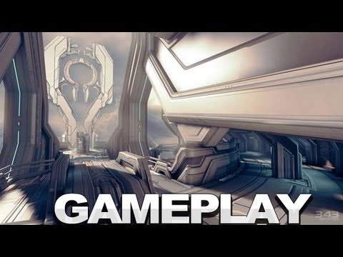 Halo 4 Gameplay - Spartan Ops - E3 2012