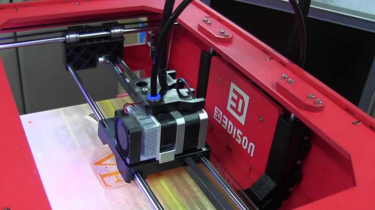 3D printer 에디슨 시연 영상 - YouTube