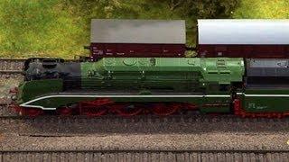 Thüringen als Modelleisenbahn in Spur H0 bei der Modellbahn Wiehe