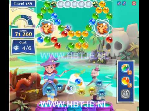 Bubble Witch Saga 2 level 189