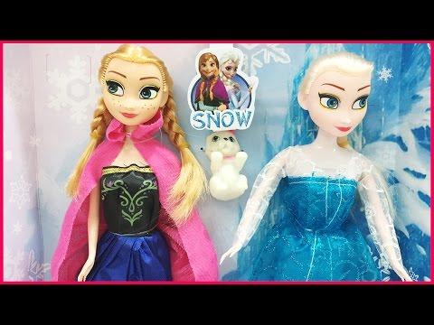 Búp bê Elsa và Anna phim hoạt hình nữ hoàng băng giá Frozen (Chim Xinh)