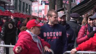 Red Sox Opening Day Fans