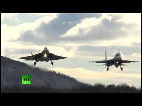 Chiến đấu cơ tàng hình Nga lần đầu tung cánh ở Viễn Đông