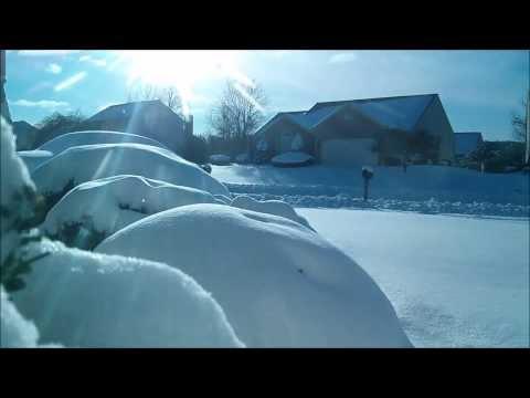 Northeast Snow Storm (Hercules) Time Lapse - Jan 2nd 2014