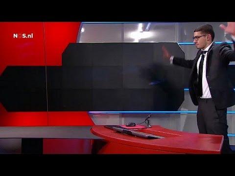 تهديدات مقتحم تلفزيون نوس الهولندي كاذبة