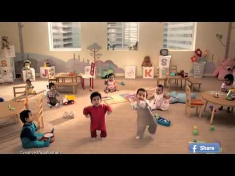 Kit Kat Dancing Babies New TVC India Official