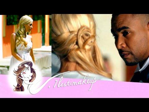 Semi-recogido de lado del video clip Omar-pedido Naywa