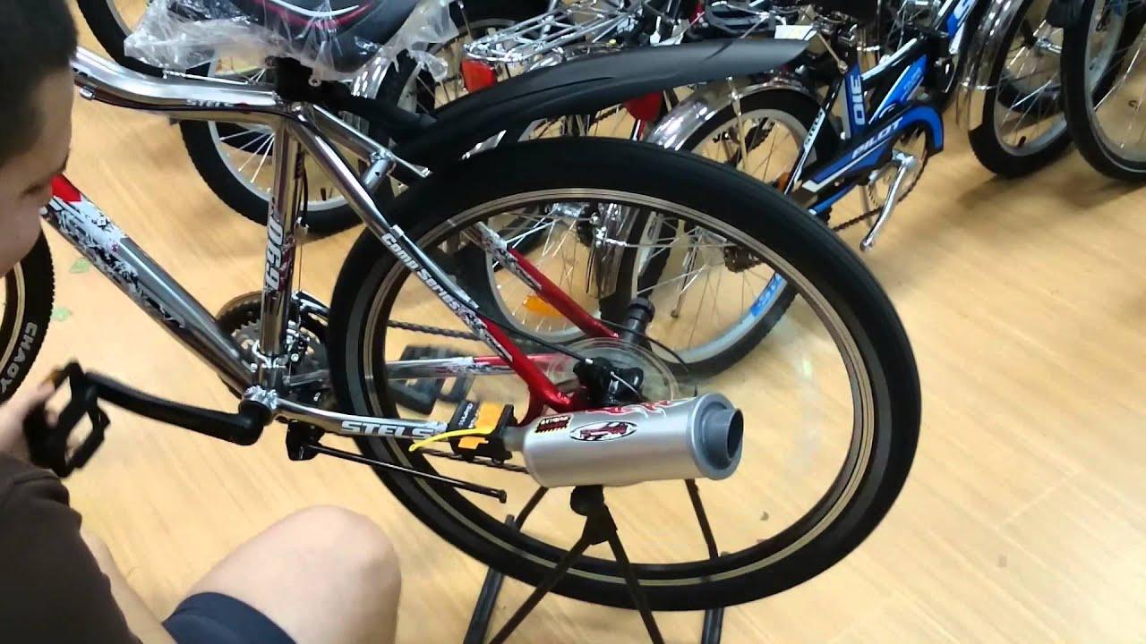 Как сделать глушитель для велосипеда своими руками