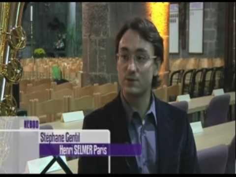 Interview de Stéphane Gentil sur l'Histoire du Saxophone par MAtele.be (13/11/2010)