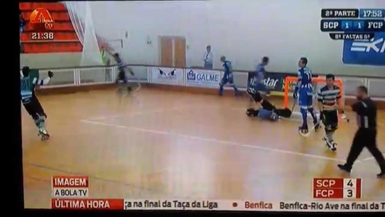 Hoquei Patins :: 25J ::Sporting - 4 x Porto - 3 de 2013/2014