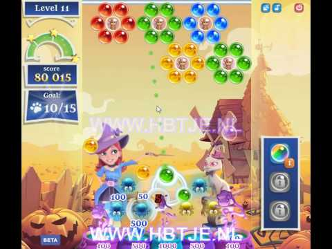 Bubble Witch Saga 2 level 11