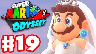 Super Mario Odyssey - Gameplay Walkthrough Part 19 - Amiibo and Cloud Kingdom 100% (Nintendo Switch)